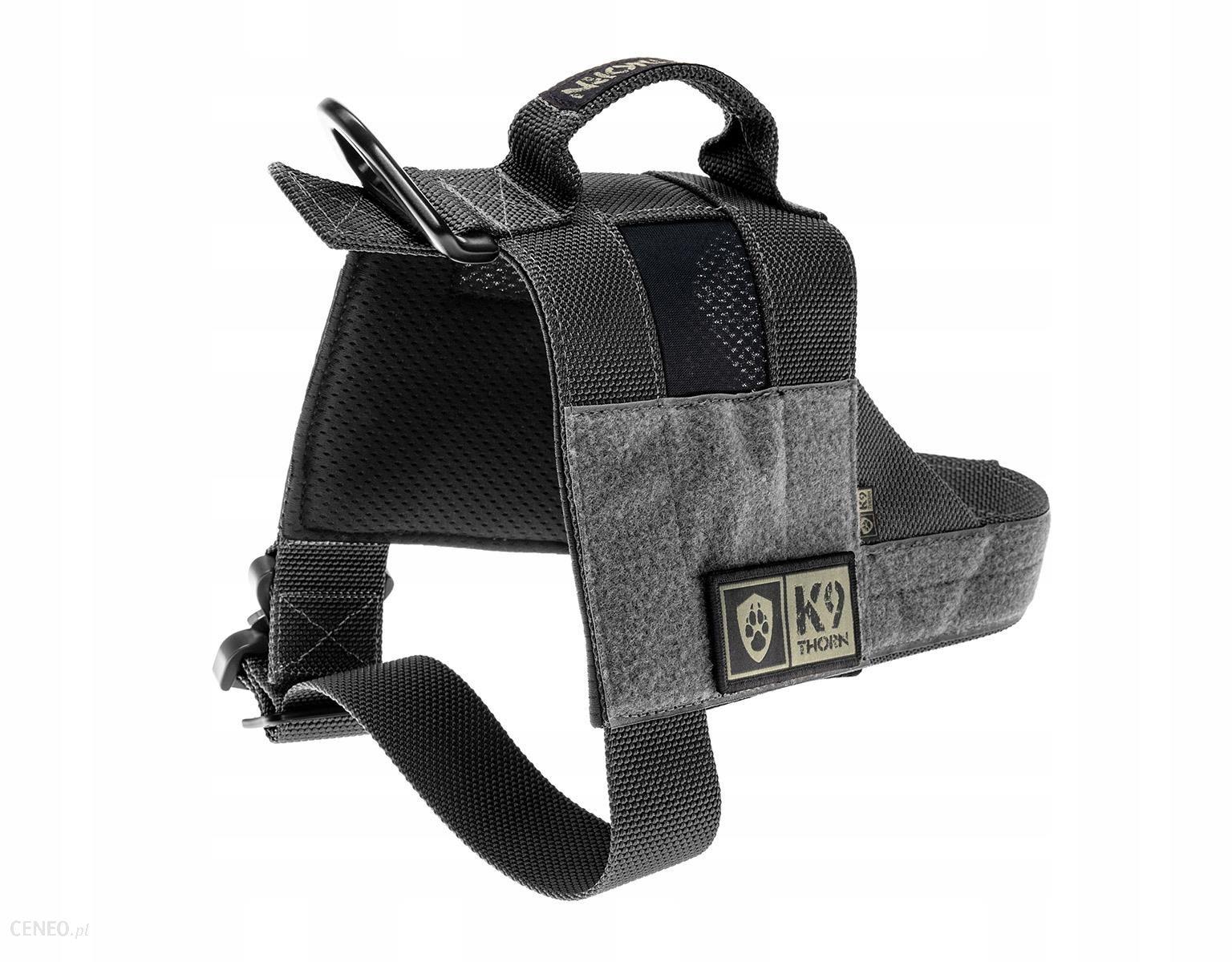 Szelki dla psa K9 thorn Bravo czarne rozmiar XL