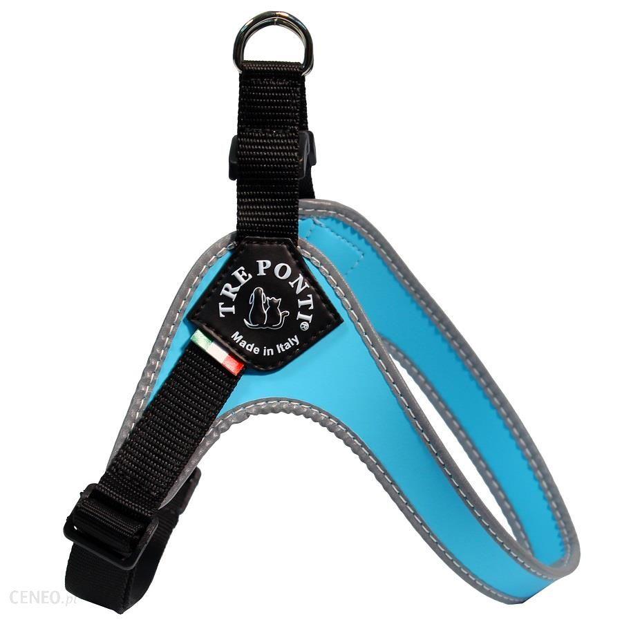 Szelki małe 43-58cm Tre Ponti Easy Fit niebieskie