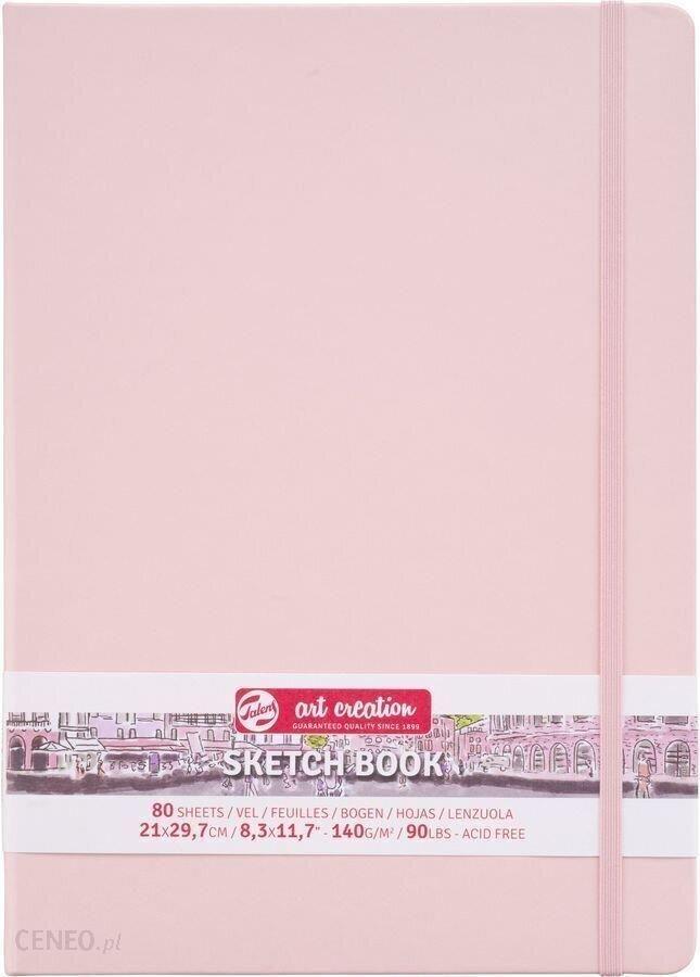 Talens Art Creation Sketchbook Pastel Pink 21X30Cm 140G