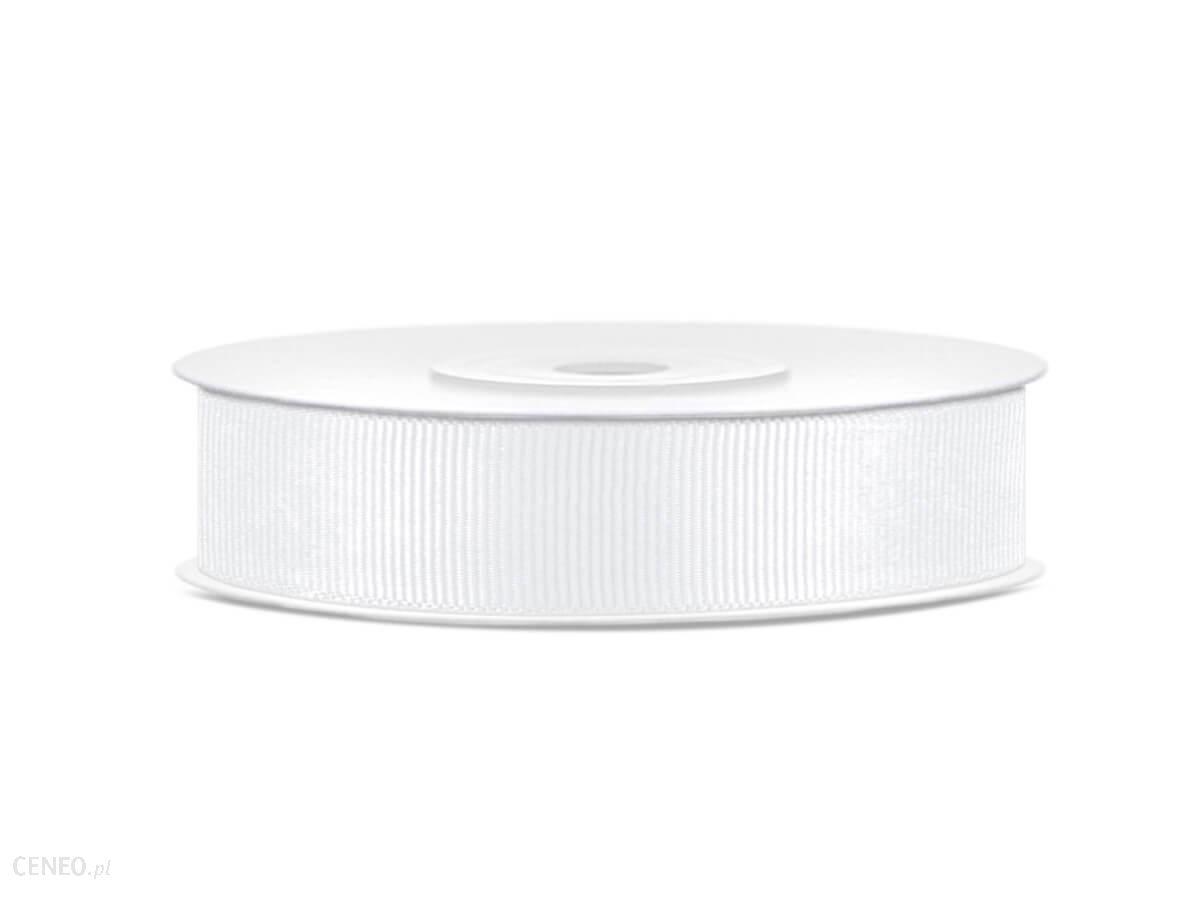 Tasiemka rypsowa 15mm 25m biała