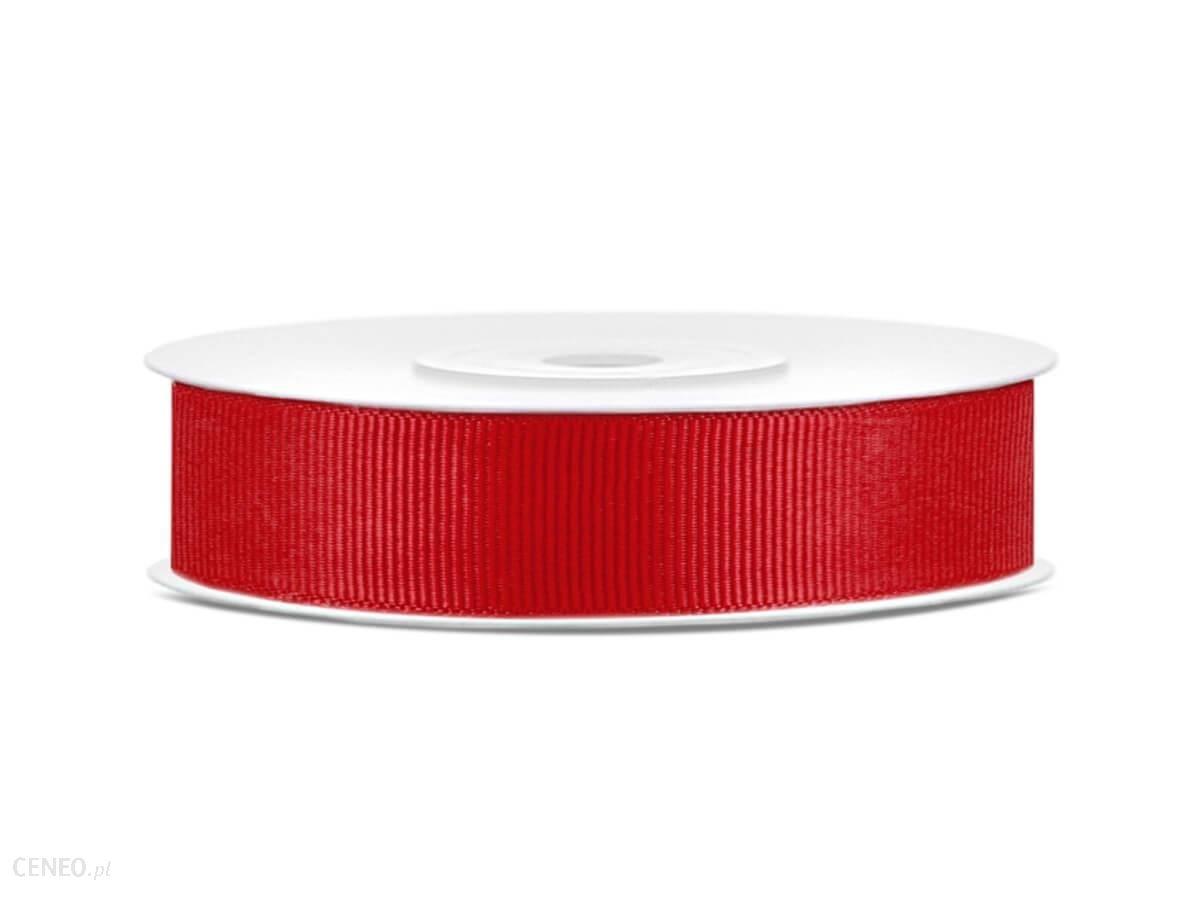 Tasiemka rypsowa 15mm 25m czerwona