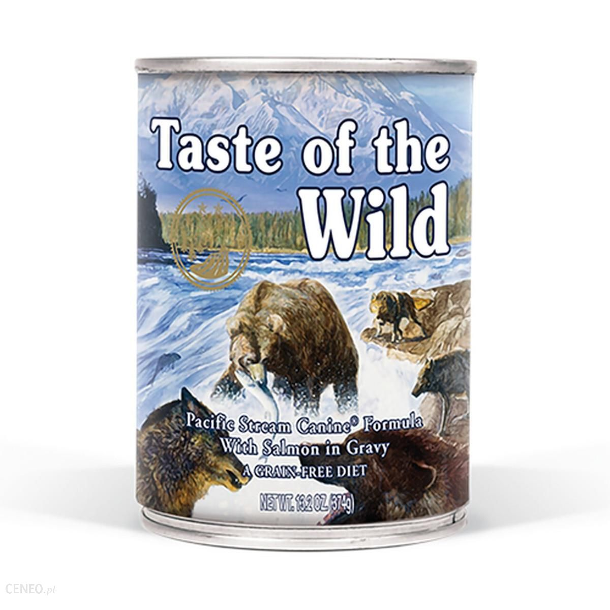 taste of the wild Pacific Stream Canine Formula 390g