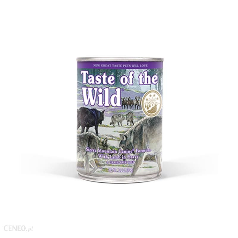 taste of the wild Sierra Mountin Canine Formula 12x390g