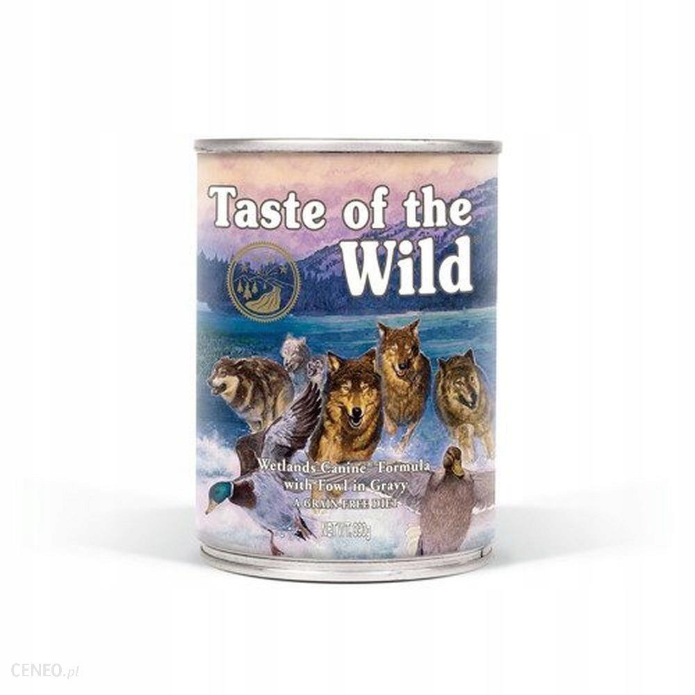 Taste Of The Wild Wetlands drób 6x390G