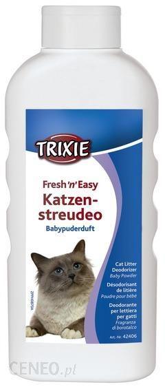 TRIXIE Fresh'N'Easy Odświeżacz Zapachu Do Kuwety zapach pudrowy 750G