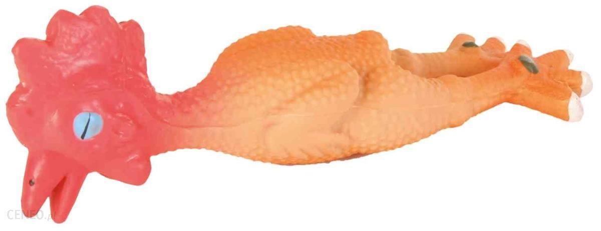 Trixie Kurczak Lateksowy Zabawka Piszcząca 15cm