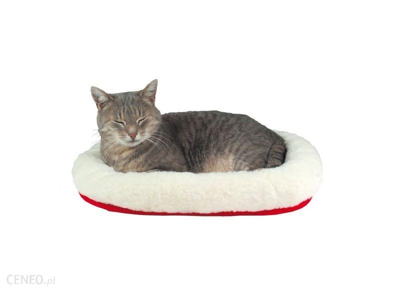 Trixie Legowisko dla kota 45x30cm Biało-Czerwone