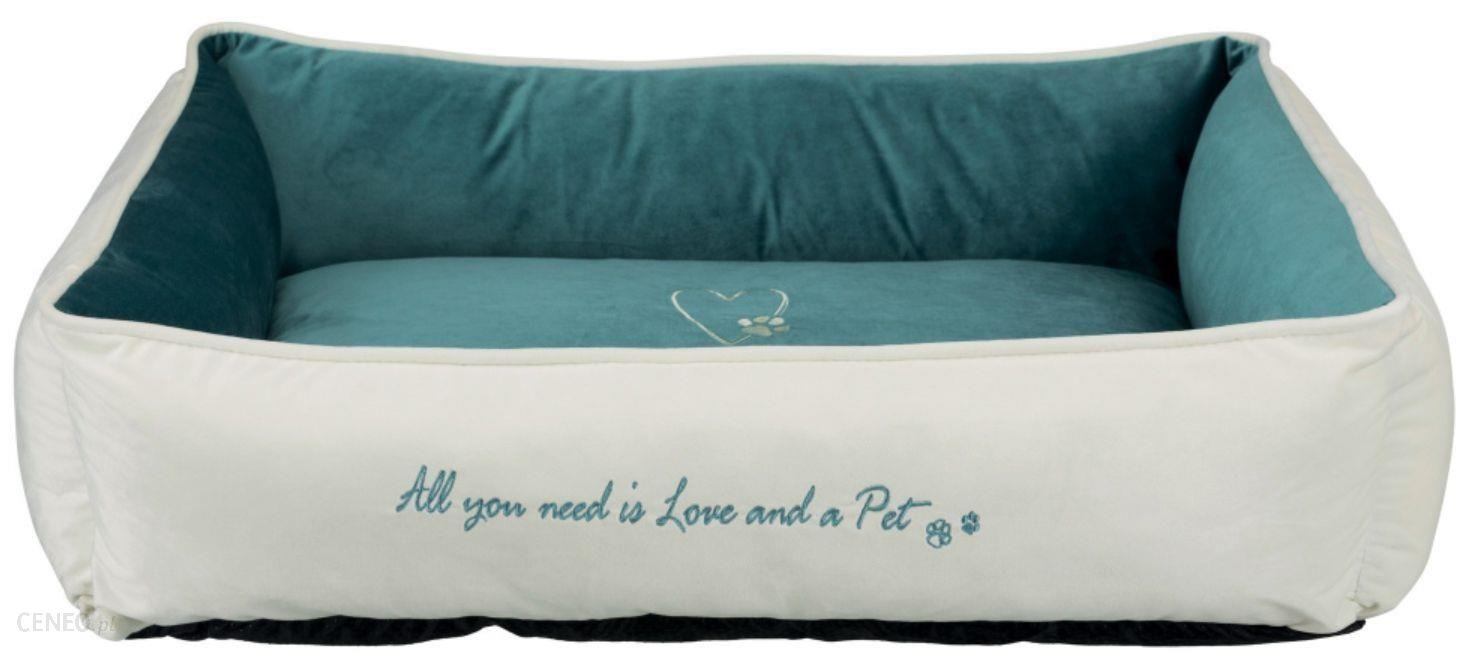 Trixie Legowisko Pet'S Home Bed 80x60cm Kremowe/Petrol