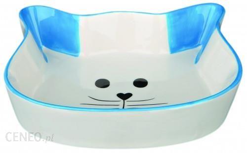 TRIXIE Miska Ceramiczna Kot niebieska TX24494NIE