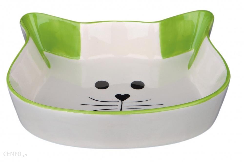Trixie Miska Ceramiczna Z Wizerunkiem Kota. 0.25 L. 12 Cm
