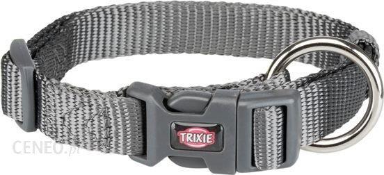 Trixie Obroża Premium S–M 30–45cm/15Mm Grafit