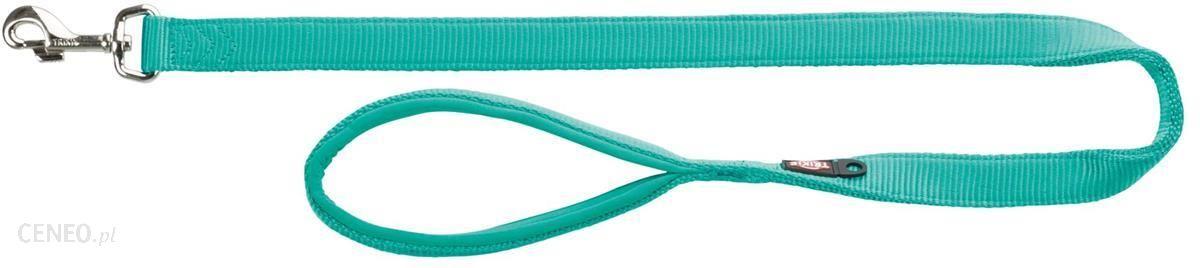 Trixie Smycz Premium Rozm. S 1 80 m/15mm Błękit