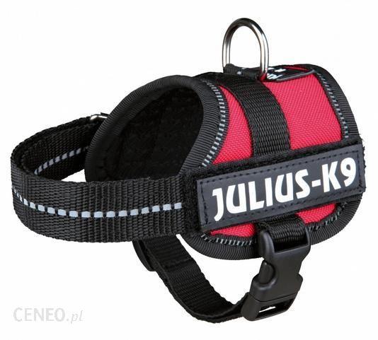 TRIXIE Szelki Julius-K9 powerharness baby XS 30–40 cm czerwony 5999053612672