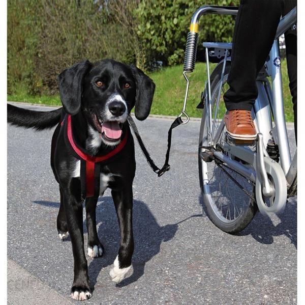 Trixie Zestaw Rowerowy Smycz Uprząż Do Roweru Pies