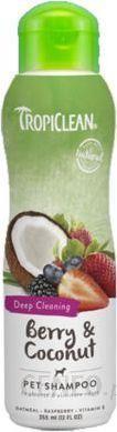 TROPICLEAN Berry & coconut Shampoo 355ml