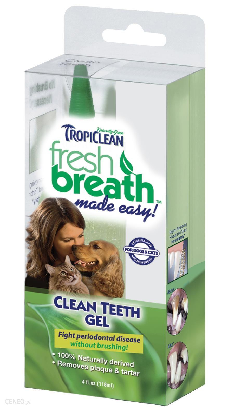 TropiClean żel Clean Teeth Gel 118ml