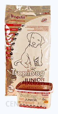 Tropidog Junior Medium & Large Breeds 15Kg.