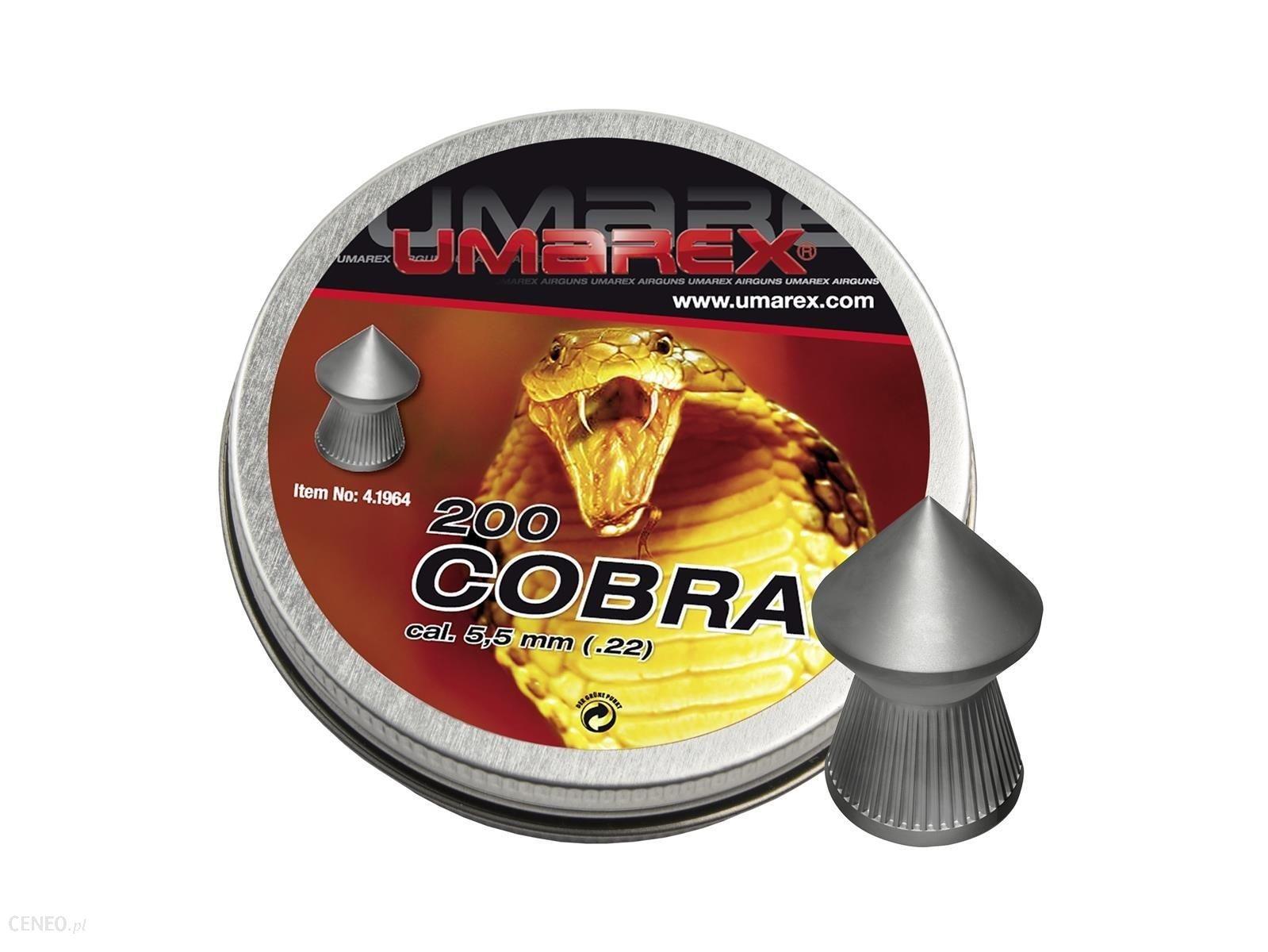 Umarex Śrut Diabolo Cobra Pointed Ribbed 5