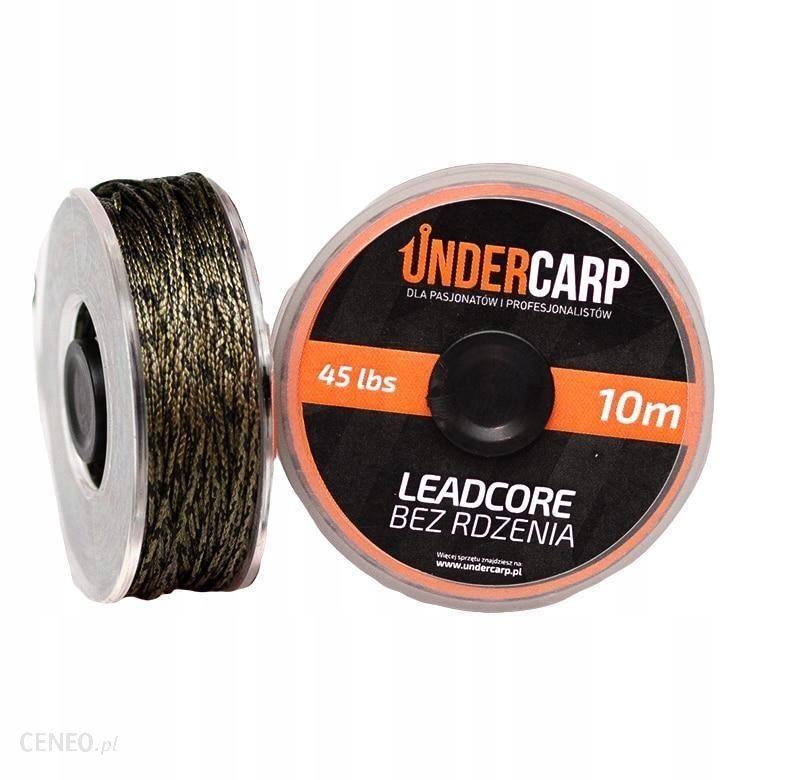 Undercarp Leadcore Bez Rdzenia 10 M/45 Lbs Zielony