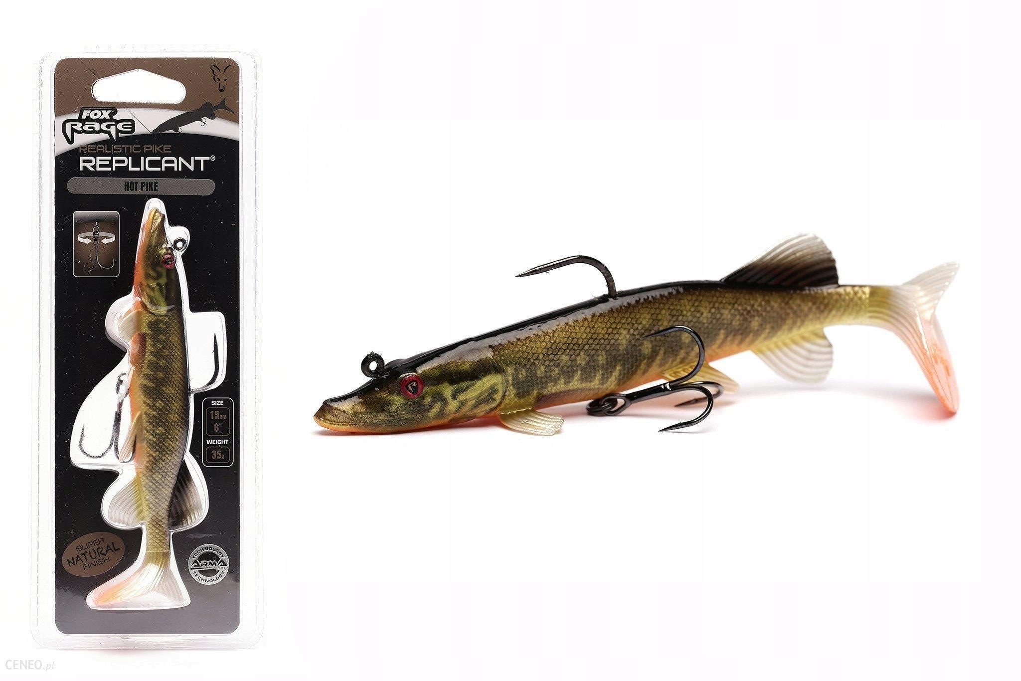 Uzbrojona Guma Fox Realistic Pike 15cm - Hot Pike