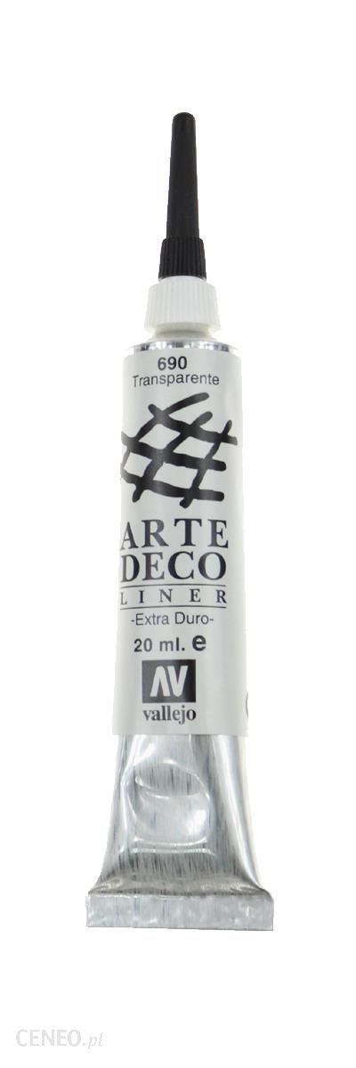 Vallejo Arte Deco Liner 690 Transparentny