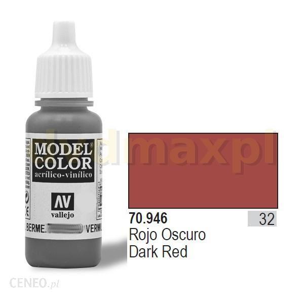 Vallejo Farba akrylowa - Dark red nr 70946 (32) / 17ml 70946