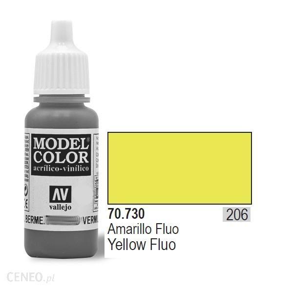 Vallejo Farba akrylowa fluorescent - Yellow nr 70730 (206) / 17ml 70730