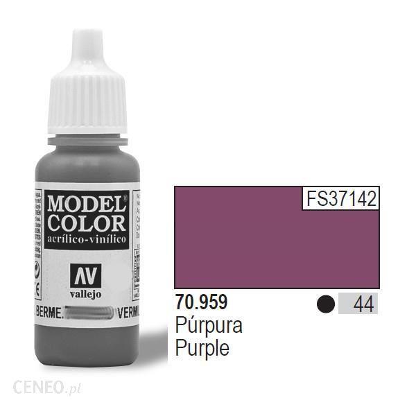 Vallejo Farba akrylowa - Purple nr 70959 (44) / 17ml 70959
