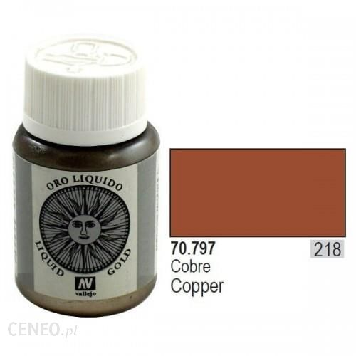 Vallejo Farba metaliczna - Copper nr 70797 / 35ml 70797
