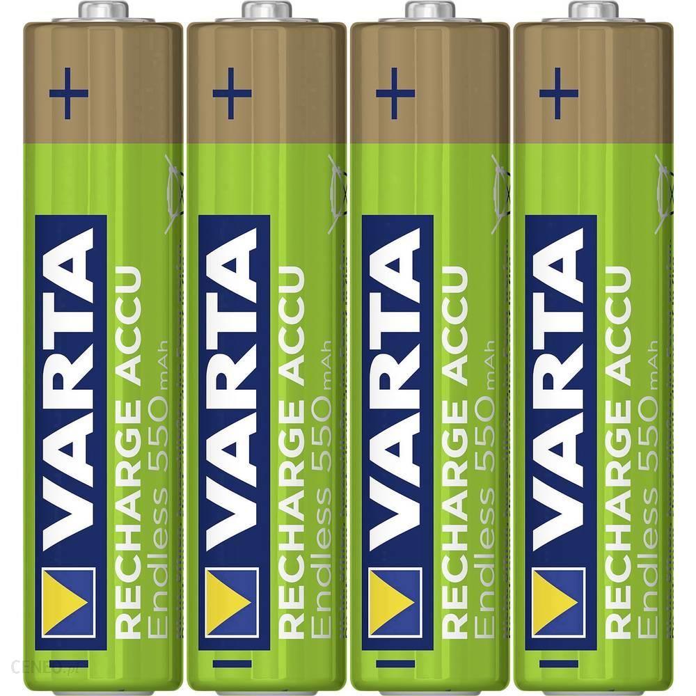 Varta Akumulator Aaa/R03 Nimh Endless Ready To Use 550 Mah 1.2 V 4Szt