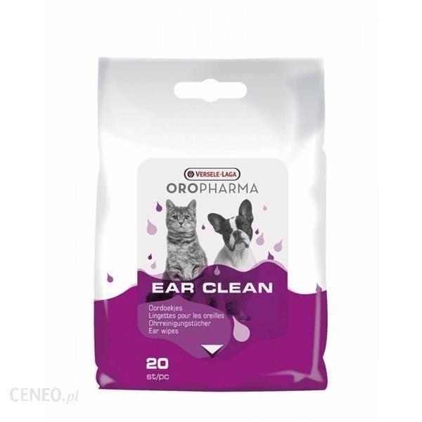 Versele-Laga Ear Clean Chusteczki Do Przemywania Uszu 20Szt