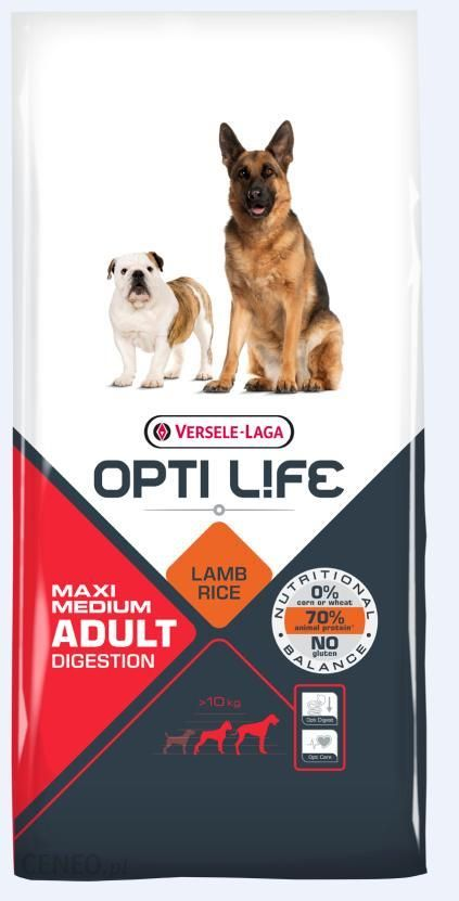 Versele Laga Opti Life Adult Digestion Medium And Maxi 2x12