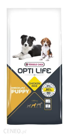Versele Laga Opti Life Puppy Medium 12