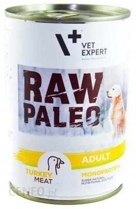 VetExpert Raw Paleo Adult Indyk 400G