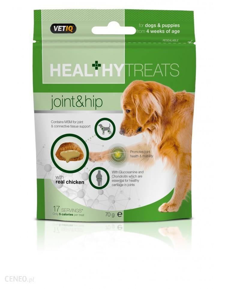 Vetiq Healthy Treats Dla Psów I Szczeniąt Zdrowe Stawy I Biodra 70G