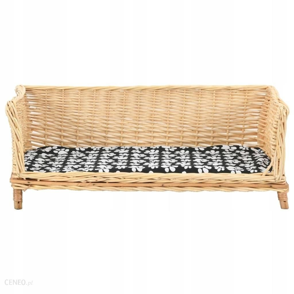 VIDAXL Kosz dla psa z poduszką 90x54x35cm (170775)