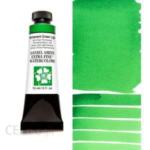 Watercolor 15ml tubes DANIEL SMITH S1 Permanent Green Light