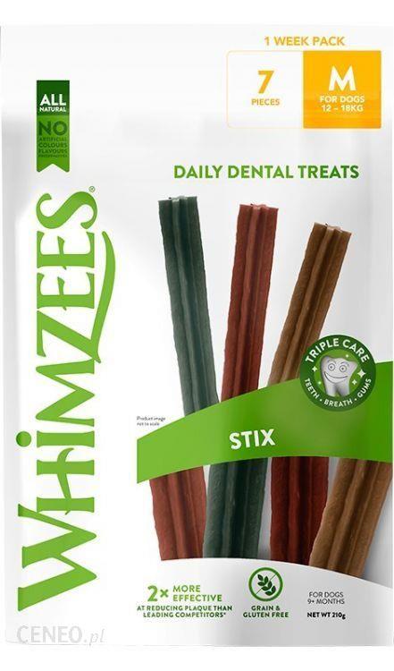 Whimzees 1 Week Pack Stix M 7Szt