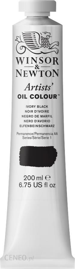 Winsor & Newton Aoc Ivory Black Farba Olejna S 1 200ml