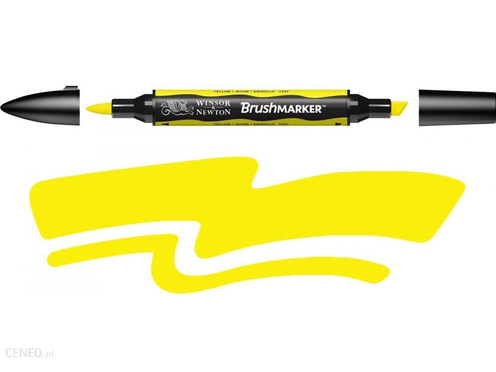 Winsor & Newton Brushmarker Yellow Y657/173