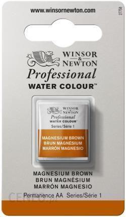 WINSOR & NEWTON Farba akwarelowa AWCMAGNES BROWN 1/2 kostki