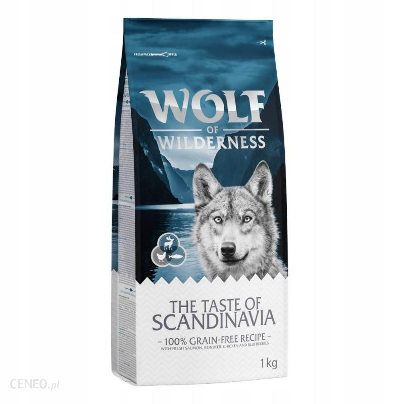Wolf of Wilderness The Taste Of Scandinavia 1kg