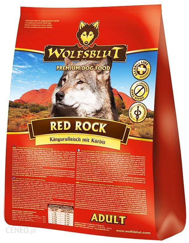 Wolfsblut Red Rock kangur i bataty 15kg