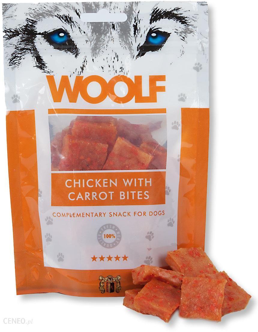 Woolf Chicken With Carrot Bites 100G