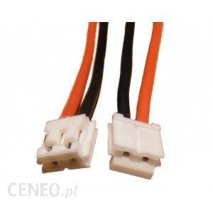 Wtyczka 2-pin EH biała z przewodem 22AWG 30