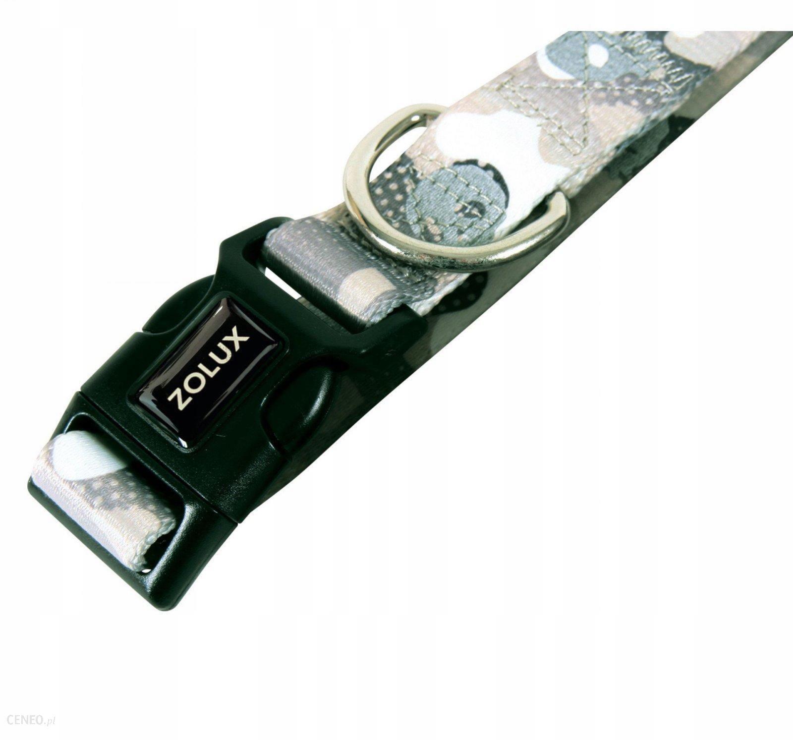 Zolux Obroża regul. Camo 25mm kol. szary