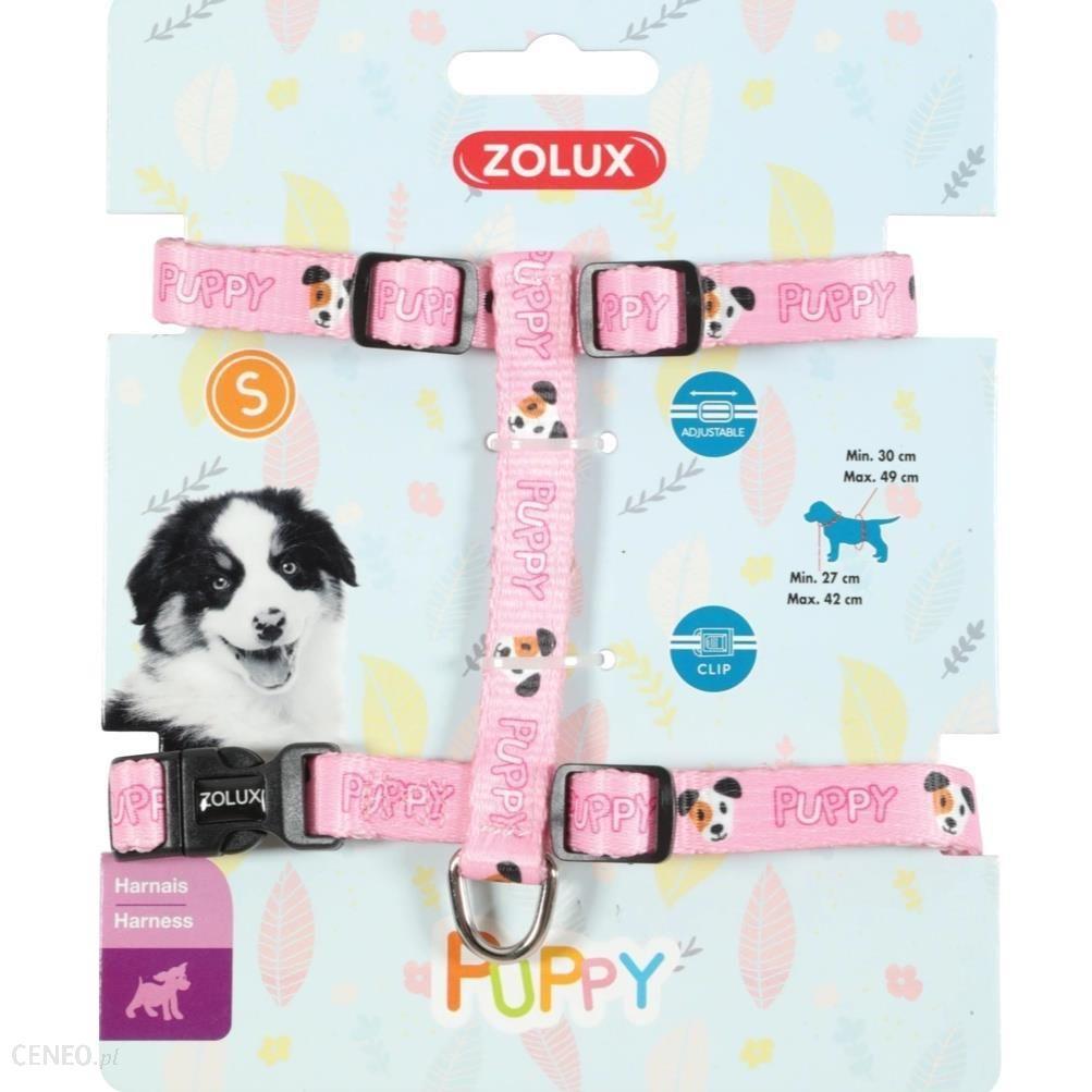 Zolux Szelki Puppy Mascotte 13mm Różowe
