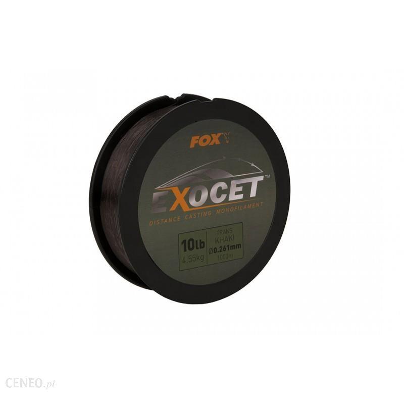 Żyłka Fox Exocet Monofilament Trans Khaki 0