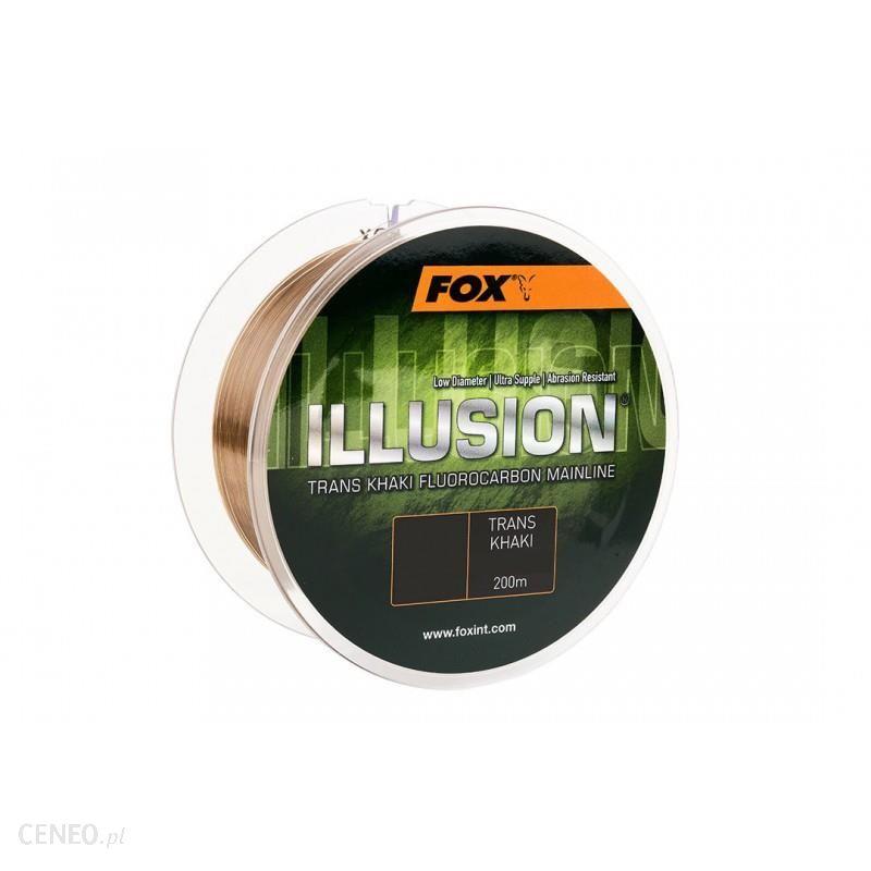 Żyłka Fox Illusion Trans Khaki 0