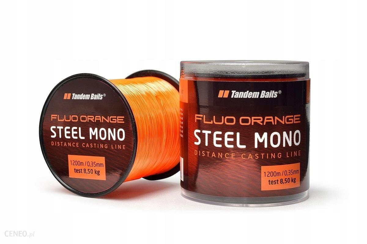 Żyłka Steel Mono Fluo Orange 600m 0